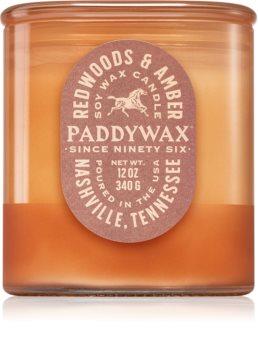Paddywax Vista Redwoods & Amber bougie parfumée