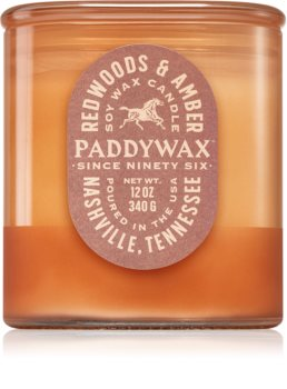 Paddywax Vista Redwoods & Amber vonná sviečka