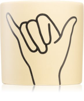 Paddywax Impressions Ocean Rose & Bay scented candle (Hang Loose)