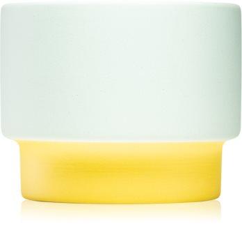 Paddywax Color Block Minty Verde candela profumata