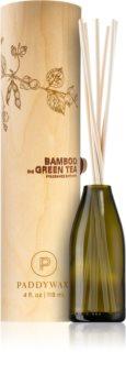 Paddywax Eco Green Bamboo & Green Tea aroma difuzér s náplní