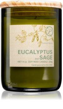 Paddywax Eco Green Eucalyptus & Sage duftlys