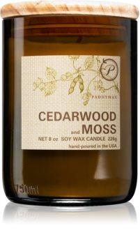 Paddywax Eco Green Cedarwood & Moss mirisna svijeća