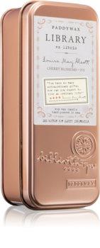 Paddywax Library Louisa May Alcott illatos gyertya