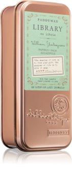 Paddywax Library William Shakespeare bougie parfumée