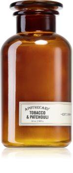 Paddywax Apothecary Tobacco & Patchouli bougie parfumée grand format