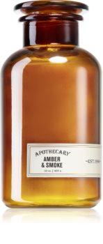 Paddywax Apothecary Amber & Smoke bougie parfumée grand format