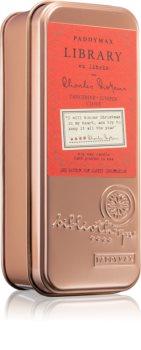 Paddywax Library Charles Dickens lumânare parfumată
