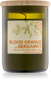 Paddywax Eco Green Blood Orange & Bergamot scented candle