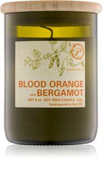 Paddywax Eco Green Blood Orange & Bergamot vonná svíčka