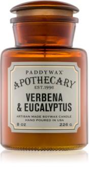 Paddywax Apothecary Verbena & Eucalyptus lumânare parfumată