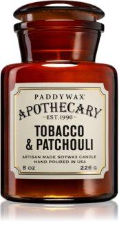 Paddywax Apothecary Tobacco & Patchouli dišeča sveča