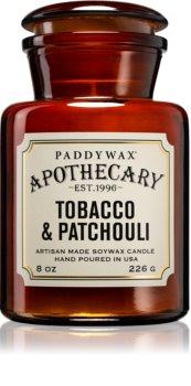 Paddywax Apothecary Tobacco & Patchouli lumânare parfumată