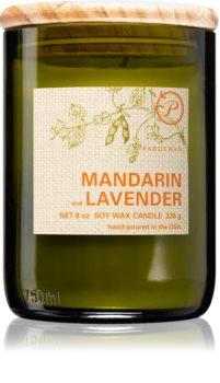 Paddywax Eco Green Mandarin & Lavender bougie parfumée