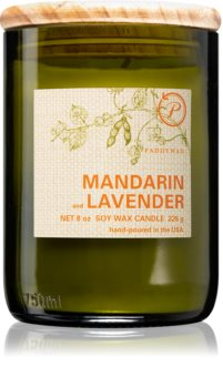 Paddywax Eco Green Mandarin & Lavender Duftkerze