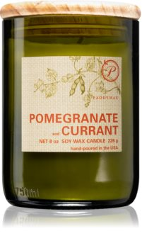 Paddywax Eco Green Pomegranate & Currant candela profumata