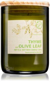 Paddywax Eco Green Thyme & Olive Leaf geurkaars