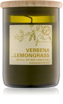 Paddywax Eco Green Verbena & Lemongrass candela profumata