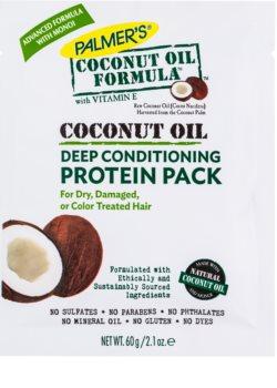 Palmer's Hair Coconut Oil Formula balsam pentru restaurare adanca pentru păr uscat și deteriorat