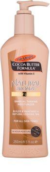 Palmer's Hand & Body Cocoa Butter Formula crema autoabbronzante corpo per un'abbronzatura graduale
