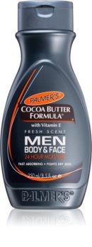 Palmer's Men Cocoa Butter Formula хидратиращ крем за лице и тяло с витамин Е