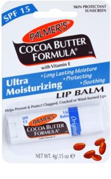 Palmer's Face & Lip Cocoa Butter Formula baume à lèvres hydratant SPF 15