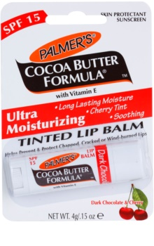 Palmer's Face & Lip Cocoa Butter Formula barvni vlažilni balzam za ustnice SPF 15
