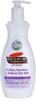 Palmer's Hand & Body Cocoa Butter Formula Bálsamo corporal suave para o alisamento de pele seca sem perfume