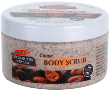 Palmer's Hand & Body Cocoa Butter Formula peeling corporal  com efeito hidratante
