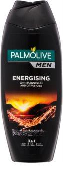 Palmolive Men Energising gel de banho para homens 3 em 1