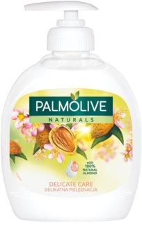 Palmolive Naturals Delicate Care flüssige Seife für die Hände mit Pumpe