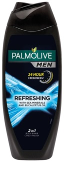 Palmolive Men Refreshing Vartalopesu Miehille 2 in 1