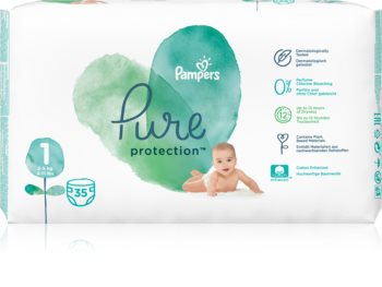 Pampers Pure Protection Size 1 бебешки пелени