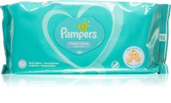 Pampers Fresh Clean dětské jemné vlhčené ubrousky pro citlivou pokožku