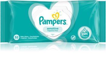 Pampers Sensitive dětské jemné vlhčené ubrousky pro citlivou pokožku
