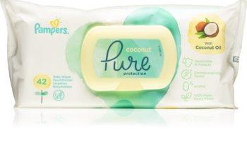 Pampers Pure Protection Coconut sanfte Feuchttücher für Kleinkinder für empfindliche Oberhaut