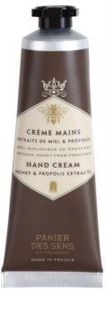 Panier des Sens Honey crema nutritiva  para manos