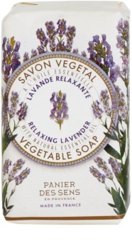 Panier des Sens Lavender jabón vegetal relajante