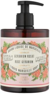 Panier des Sens Rose Geranium sabonete líquido com doseador