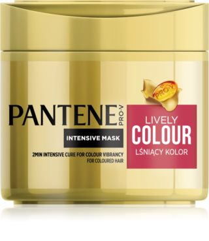 Pantene Lively Colour maska na vlasy pro ochranu barvy