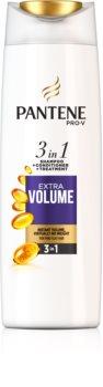 Pantene Extra Volume Erittäin Vahvistava Hiustenpesuaine 3 in 1