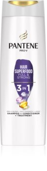 Pantene Hair Superfood Full & Strong Shampoo  3in1