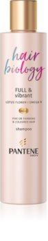 Pantene Hair Biology Full & Vibrant Reinigend en Voedend Shampoo  voor Zwak Haar