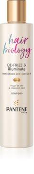 Pantene Hair Biology De-Frizz & Illuminate šampon pro barvené vlasy