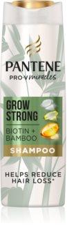 Pantene Grow Strong Biotin & Bamboo Shampoo  tegen Haaruitval