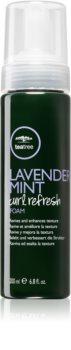 Paul Mitchell Tea Tree Lavender Mint Curl Refresh tvarující pěna pro kudrnaté vlasy