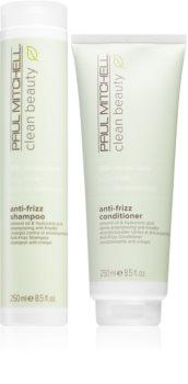 Paul Mitchell Clean Beauty Anti-Frizz sada (pro nepoddajné a krepatějící se vlasy)