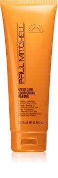 Paul Mitchell Sun Nourishing pečující maska pro vlasy namáhané chlórem, sluncem a slanou vodou