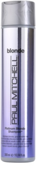 Paul Mitchell Blonde Platinum Blonde šampón pre blond a šedivé vlasy