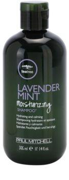 Paul Mitchell Tea Tree Lavender Mint Moisturizing Shampoo™ hydratační a zklidňující šampon pro suché a nepoddajné vlasy